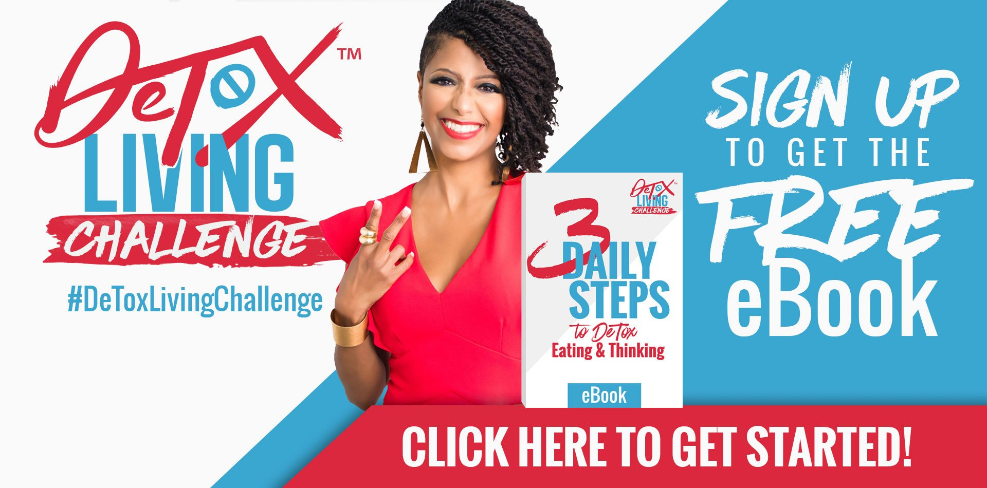 Start your journey to healing with our Free DeTox Living Challenge